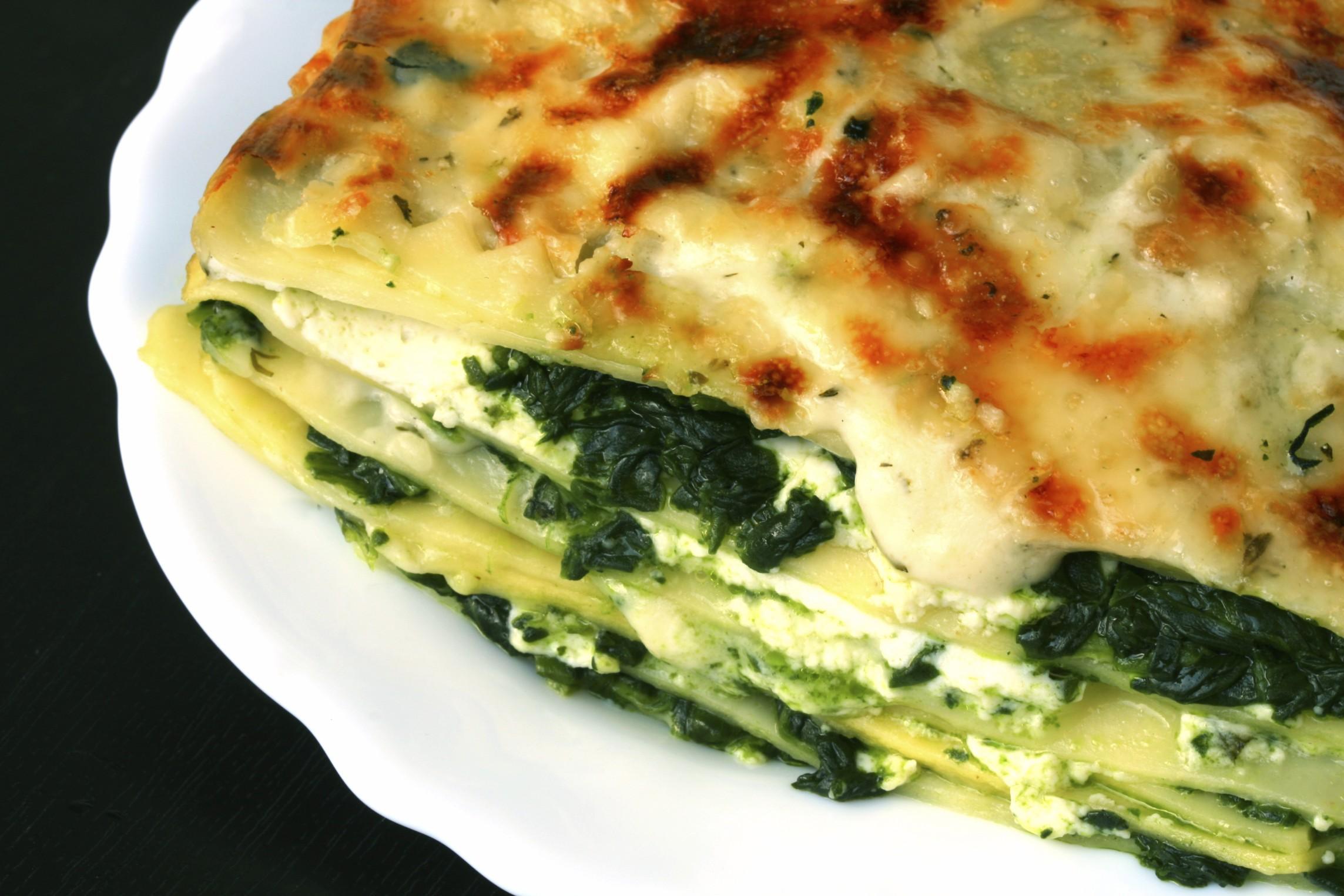 ricetta-ipocalorica-lasagne-agli-spinaci